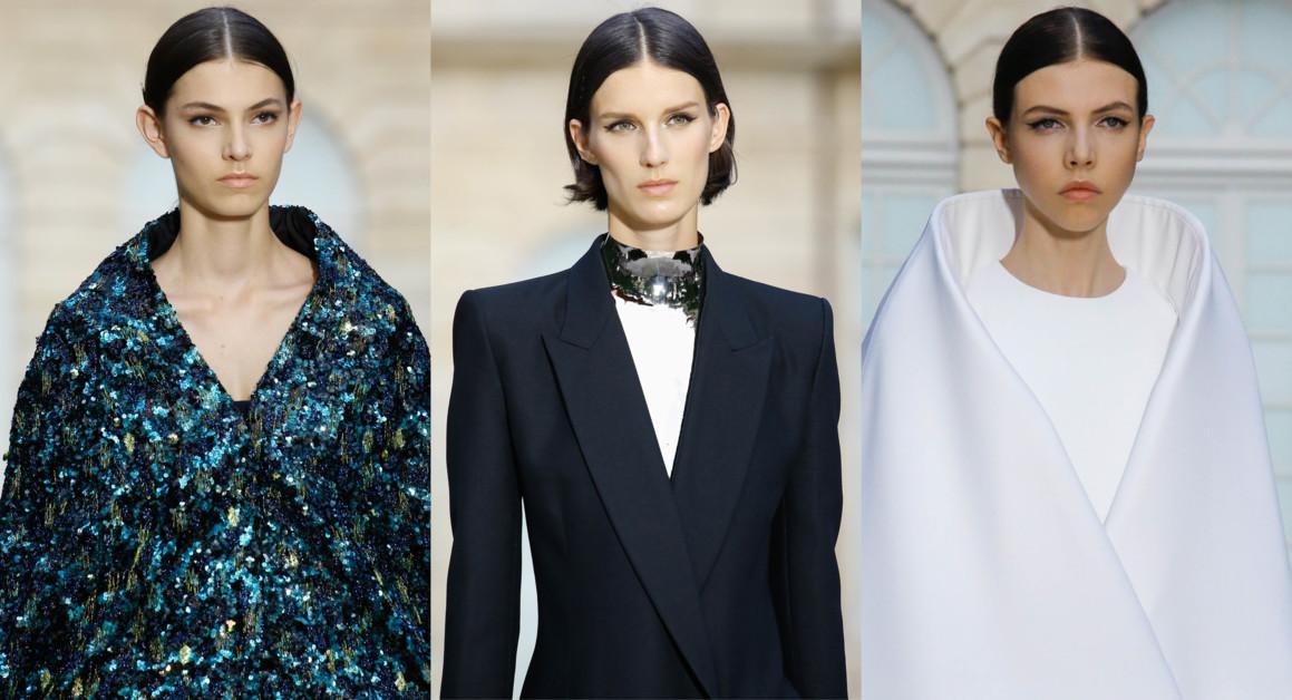 Бьюти-образы на показе Givenchy Haute Couture