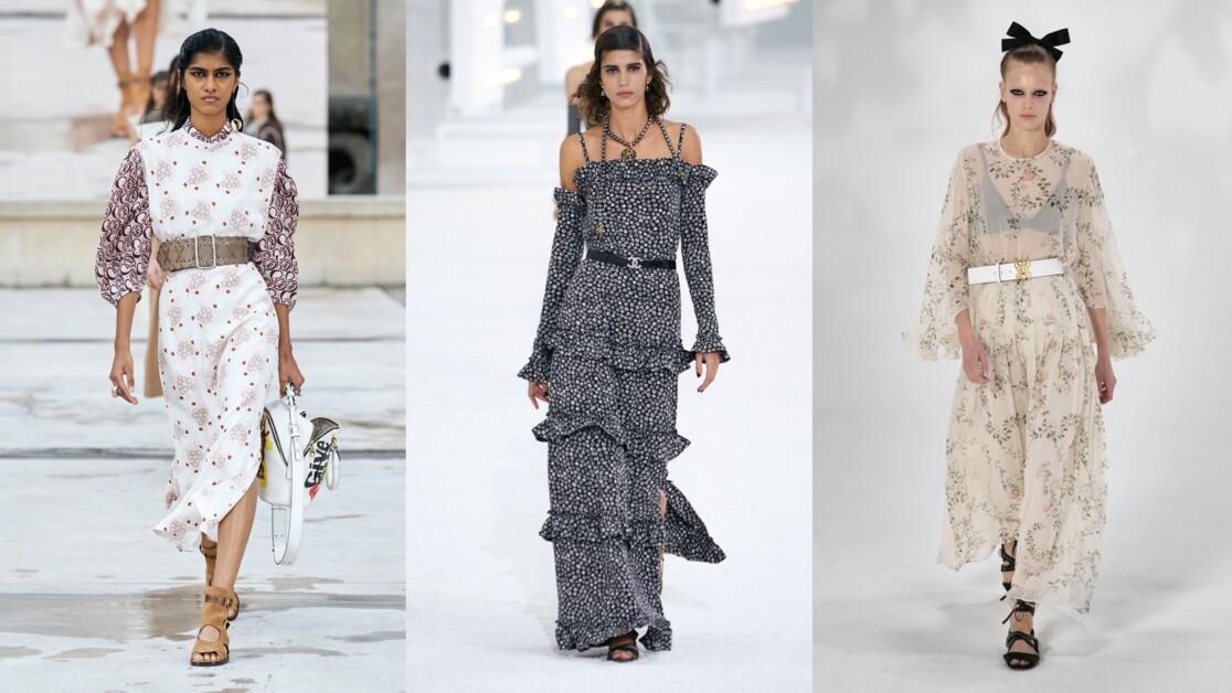 Самые красивые цветочные платья весна-лето 2021