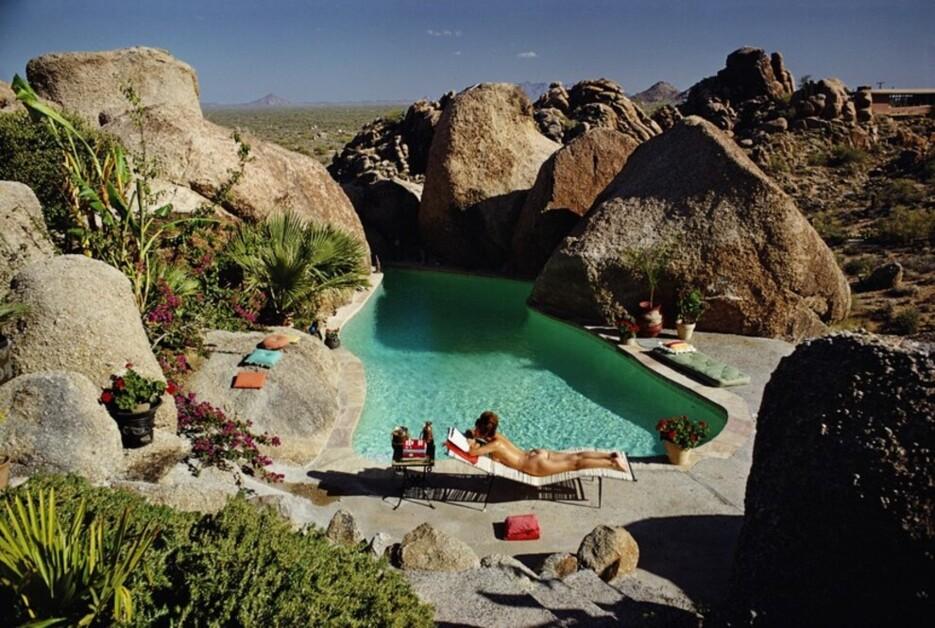 Красивый отдых: 15 лучших винтажных фото у бассейна