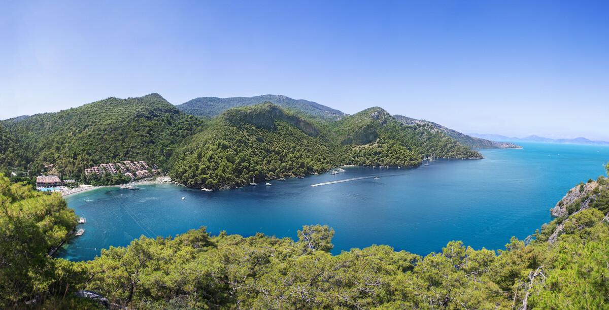 Турецкая Ривьера: отель Hillside Beach Club на берегу Эгейского моря