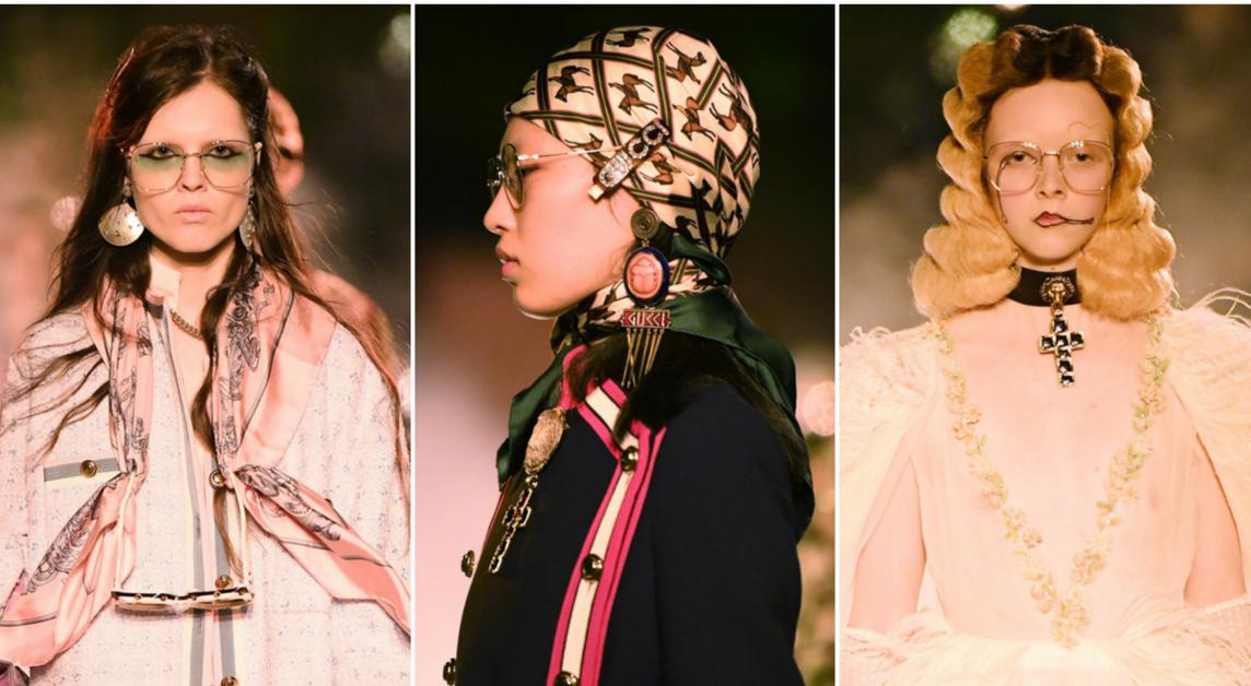 Как в бьюти-образах Gucci Resort 2019 отражается тренд Diversity