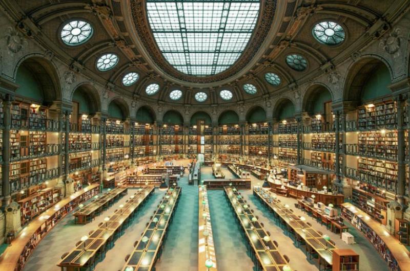 Самые красивые библиотеки Парижа