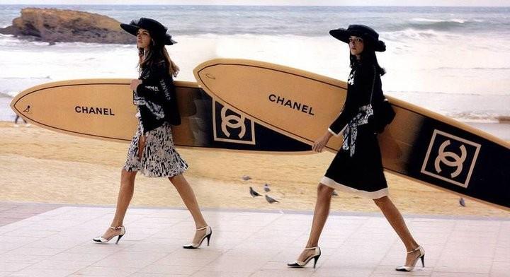 Chanel запускают линию пляжной одежды   Vogue Ukraine 138b53604ab