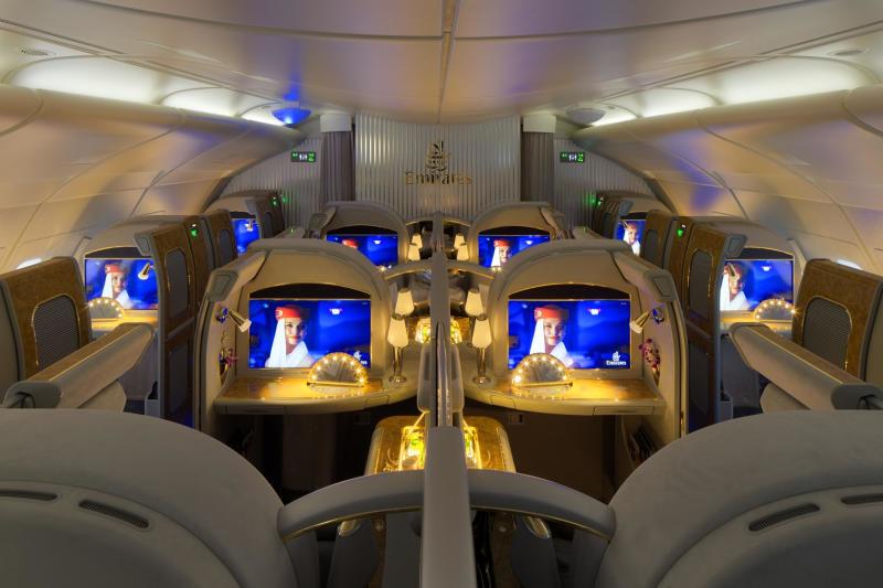 Первый класс: апартаменты на борту самолета