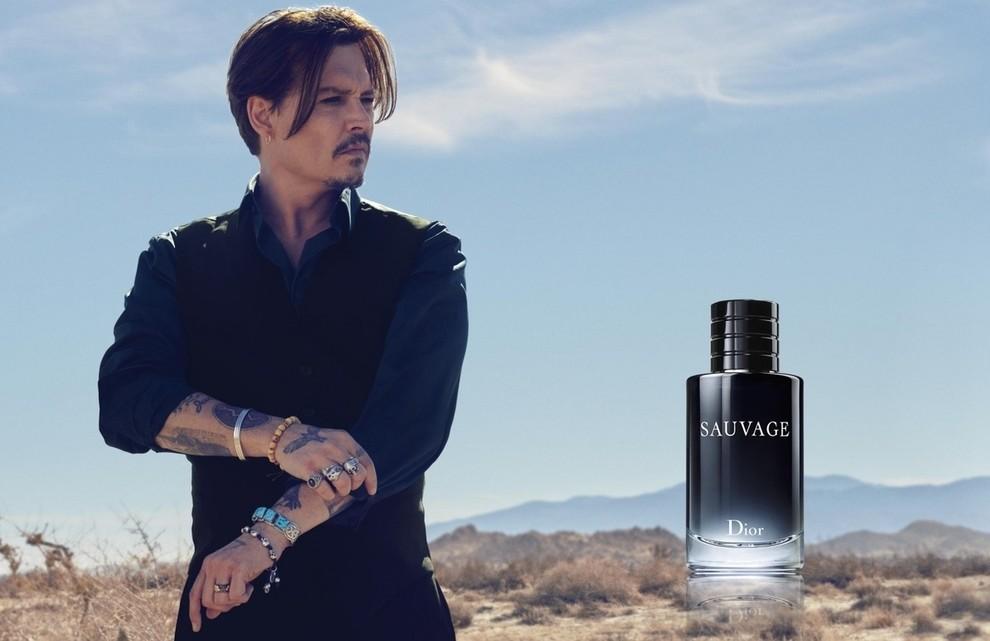 Премьера: Джонни Депп в видео Dior Sauvage