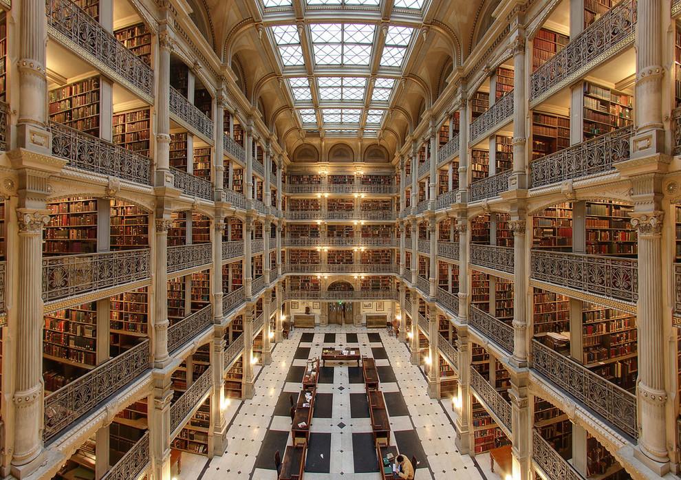 5 самых красивых библиотек мира