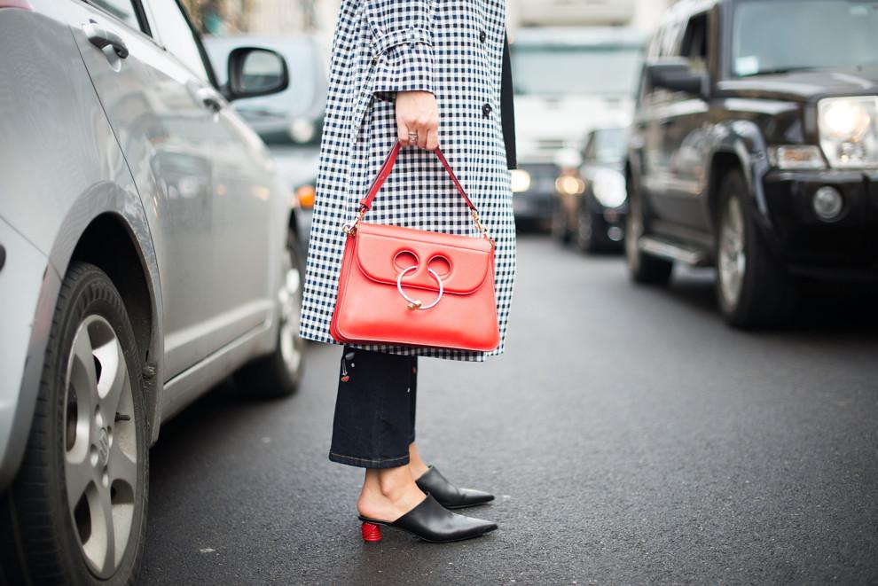 Streetstyle: любимая сумка гостей Недель моды