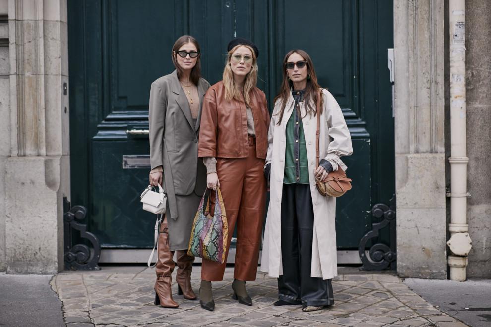 Streetstyle: гости Недели моды в Париже, часть 2