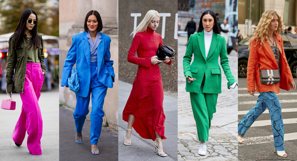 Streetstyle: как носить яркие оттенки этим летом