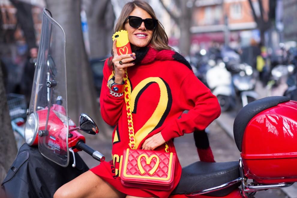Анна Делло Руссо розпродає свій гардероб