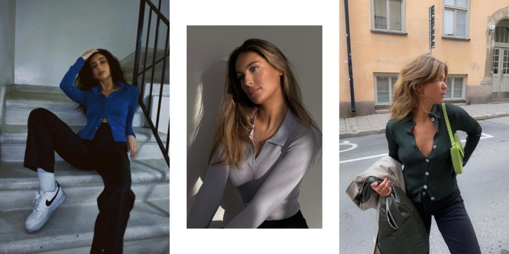 Трикотажная рубашка – главная покупка этой весны