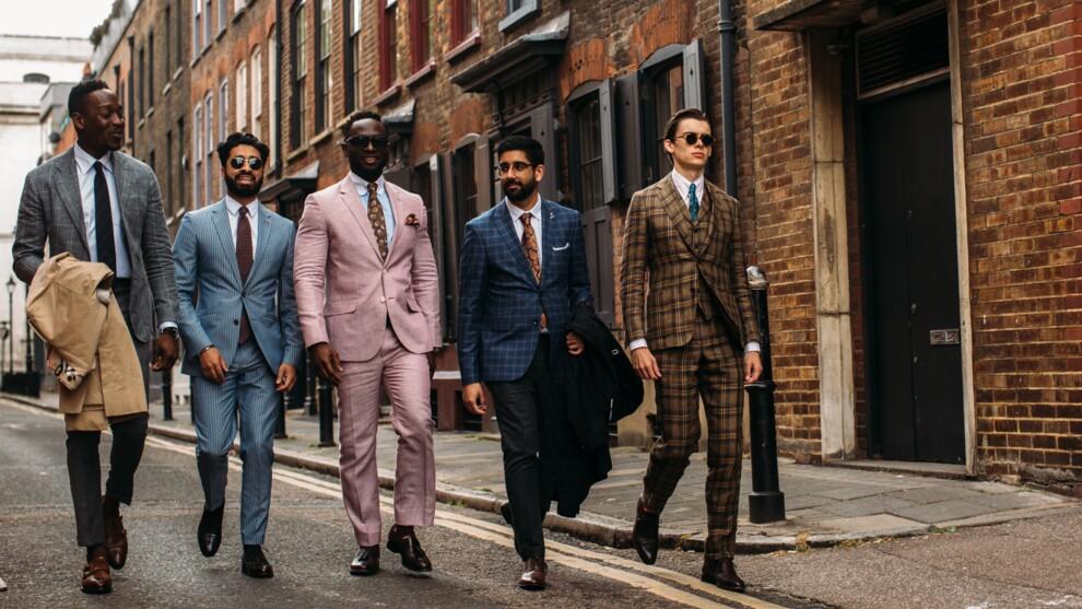Неделя мужской моды в Лондоне: самые яркие гости