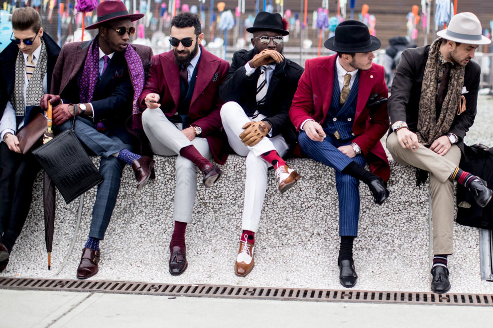 Дело в шляпе: самые модные мужчины Pitti Uomo