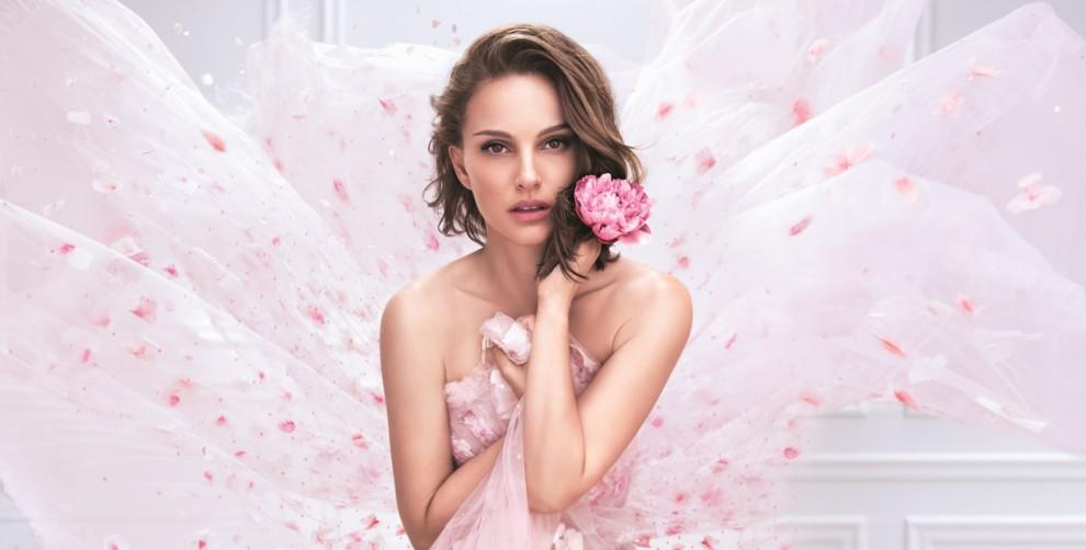 Наталі Портман у новій кампанії Miss Dior Rose N'Roses