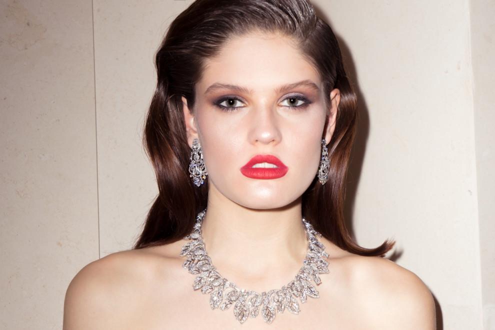 Самые дорогие украшения BVLGARI в съемке Vogue UA