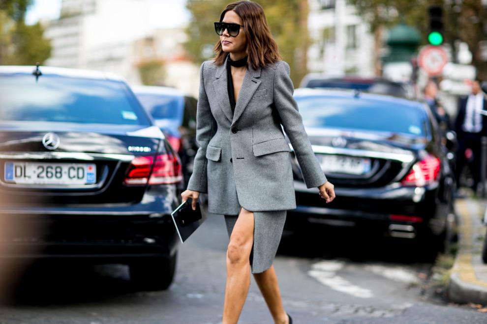 Streetstyle: как носить жакет Balenciaga