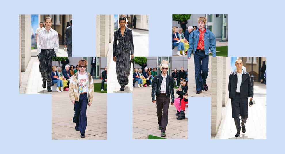 5 лучших коллекций на Неделе мужской моды в Лондоне