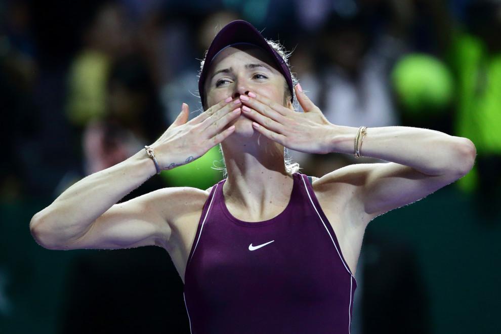Элина Свитолина стала лучшей теннисисткой года
