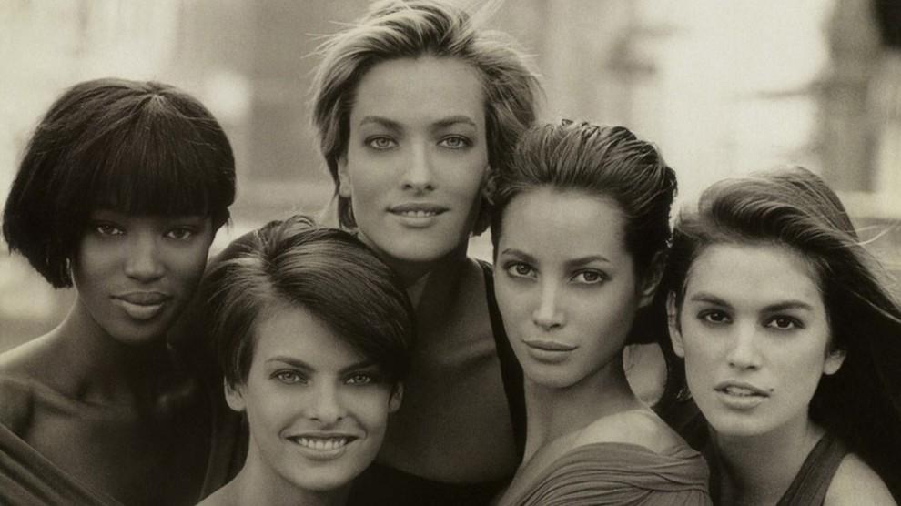 Самые известные обложки Питера Линдберга для Vogue