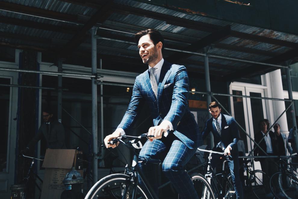 Как одеваются гости Недели мужской моды в Нью-Йорке