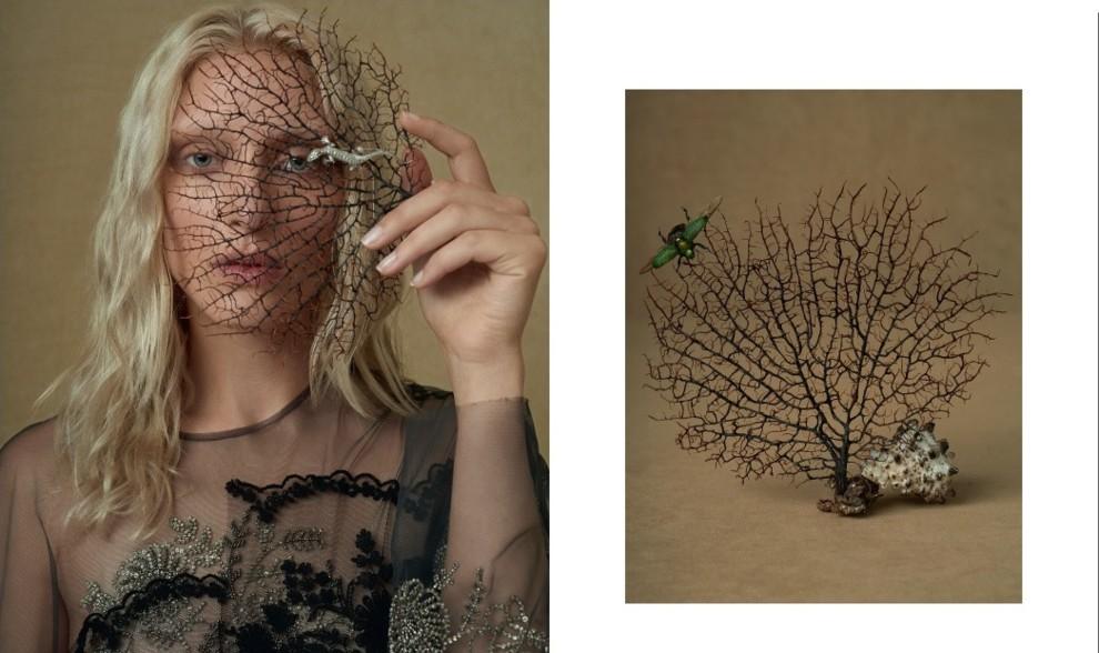 Золотой век: роскошный макияж из бьюти-съемки Vogue UA