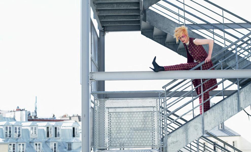 Тильда Суинтон – звезда ноябрьского номера Vogue UA