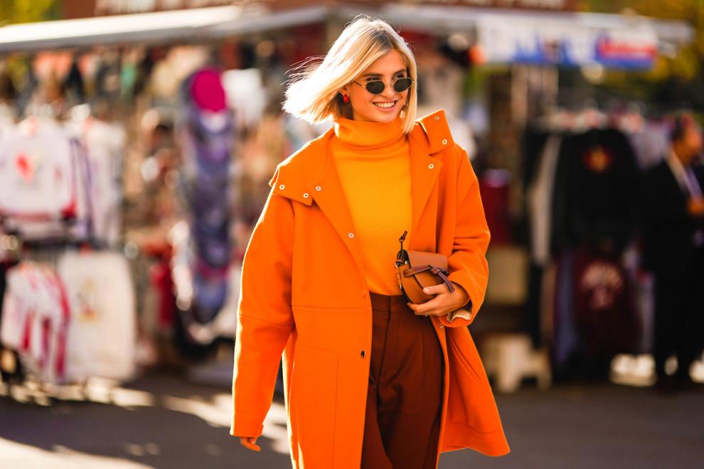 Немного солнца: 35 примеров, как носить оранжевый цвет