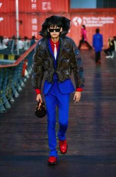Louis Vuitton Menswear Resort 2021 фото