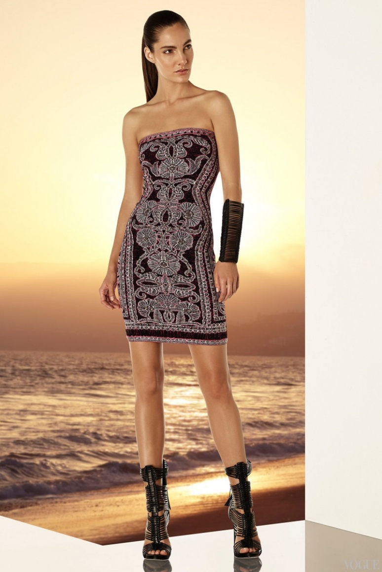 Herve Leger by Max Azria Resort 2015 #35
