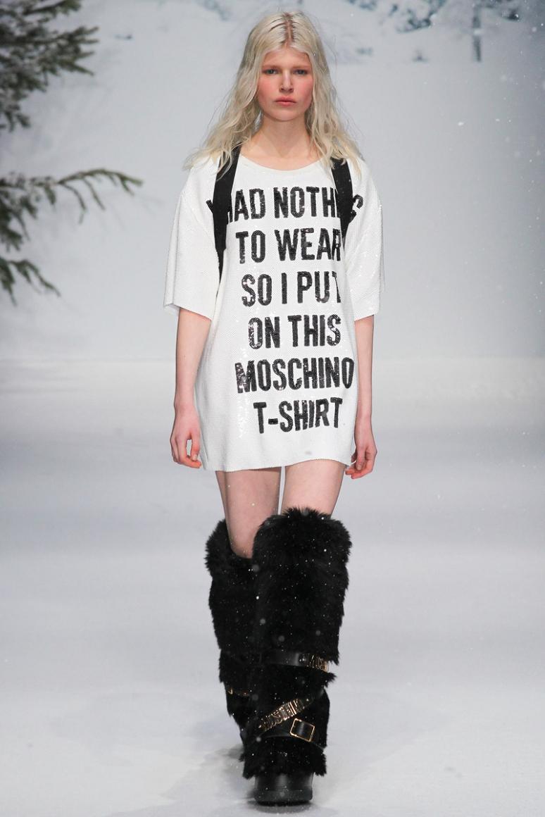 Moschino Menswear осень-зима 2015/2016 #41