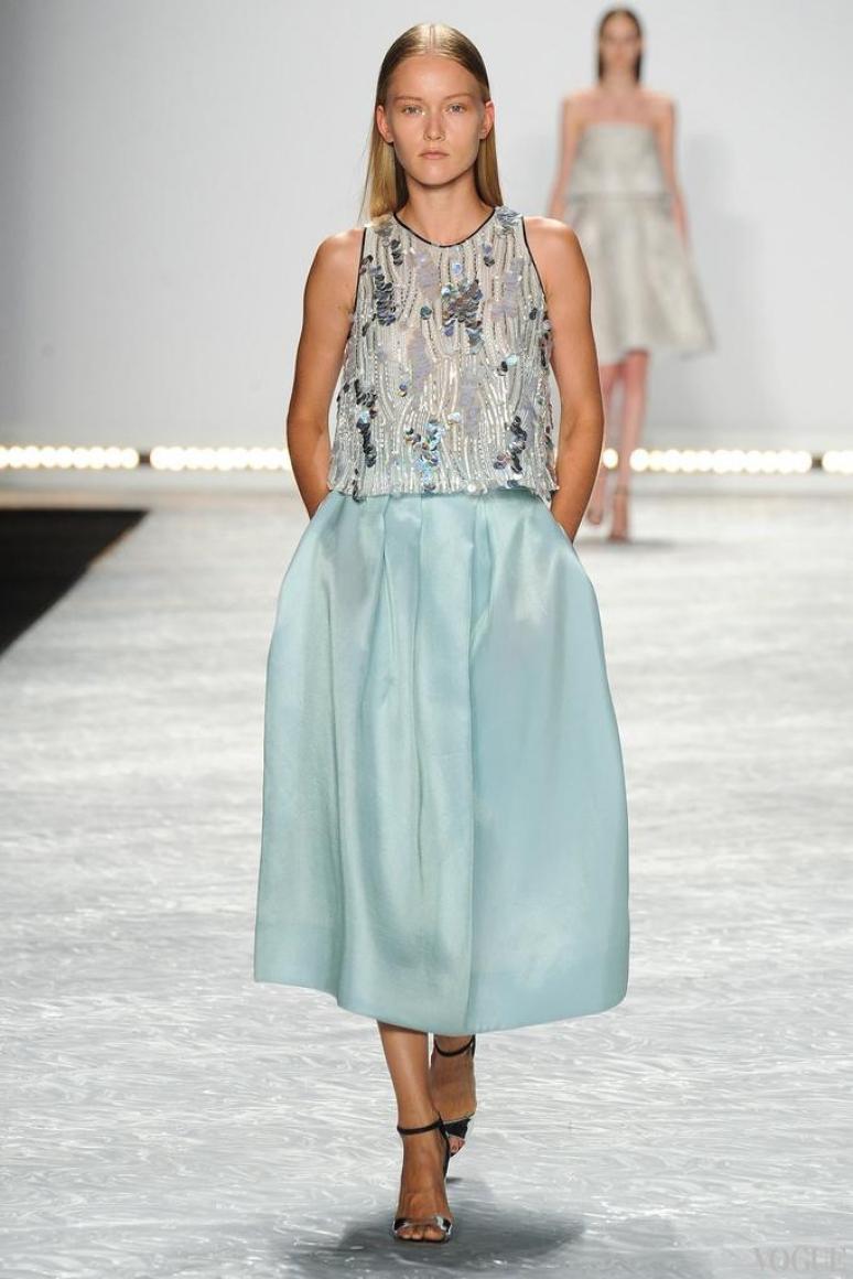 Monique Lhuillier весна-лето 2015 #20