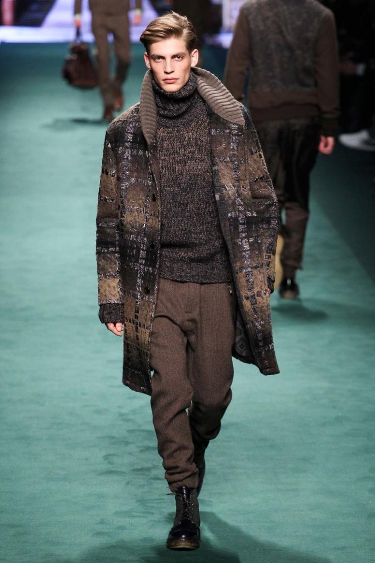 Etro Menswear осень-зима 2015/2016 #28