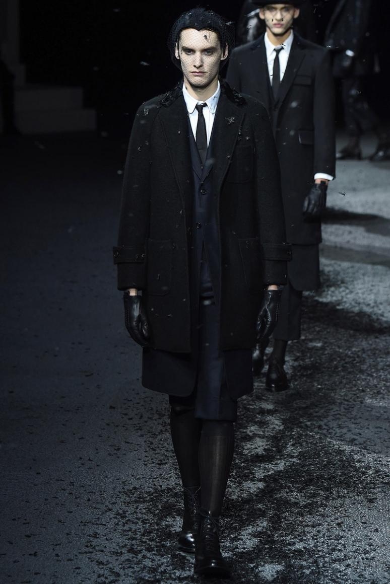 Thom Browne Menswear осень-зима 2015/2016 #11