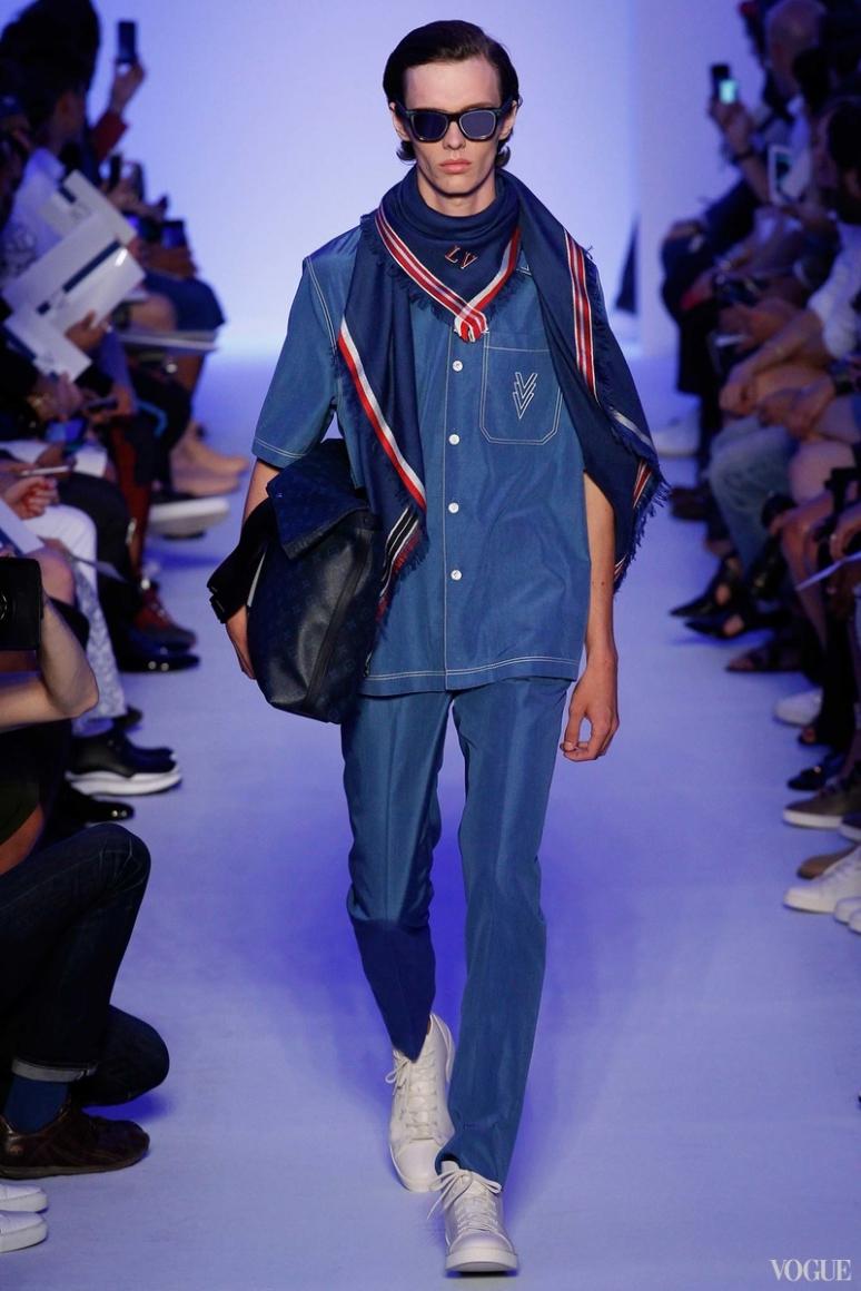 Louis Vuitton Menswear весна-лето 2016 #22