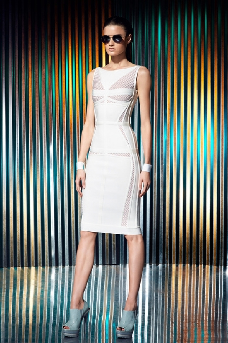 Herve Leger by Max Azria Resort 2014 #6