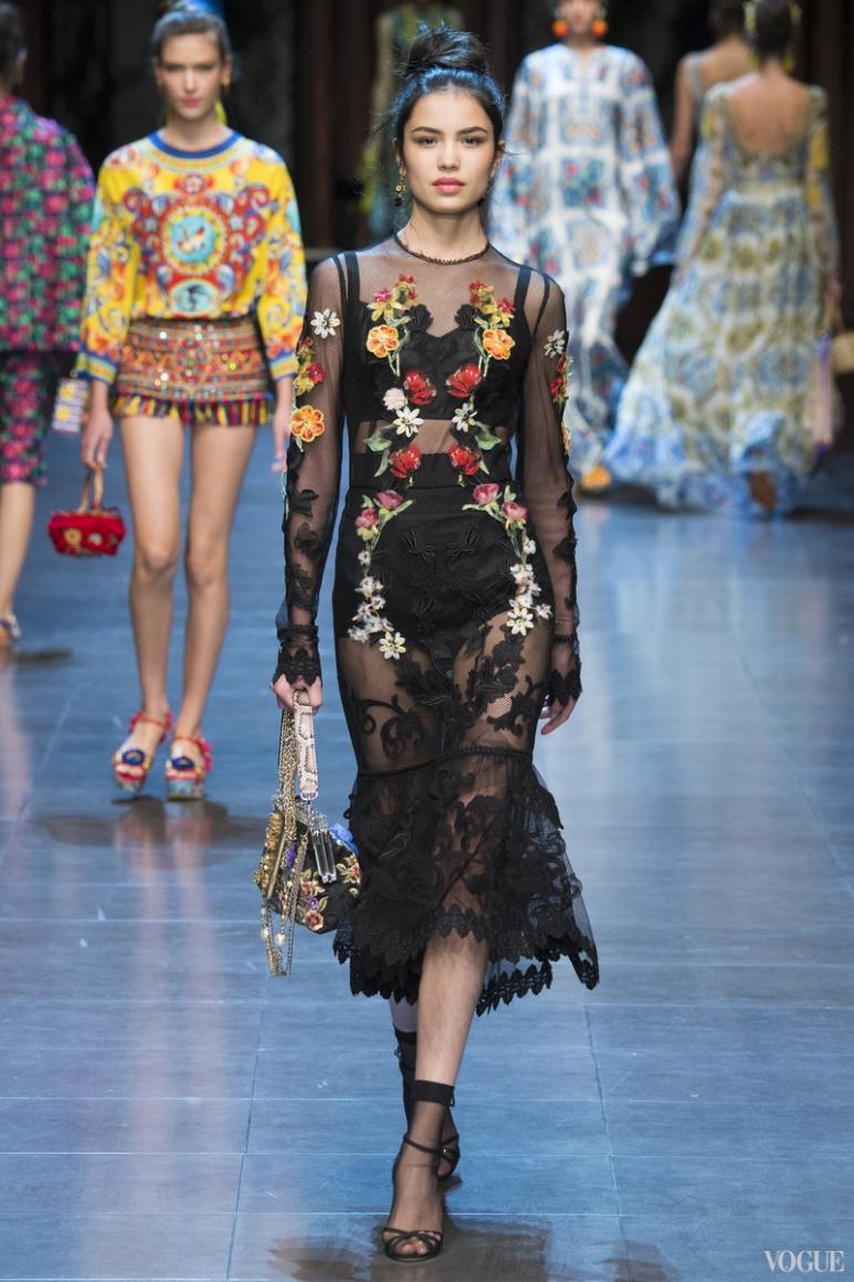 Dolce & Gabbana весна-лето 2016 #55