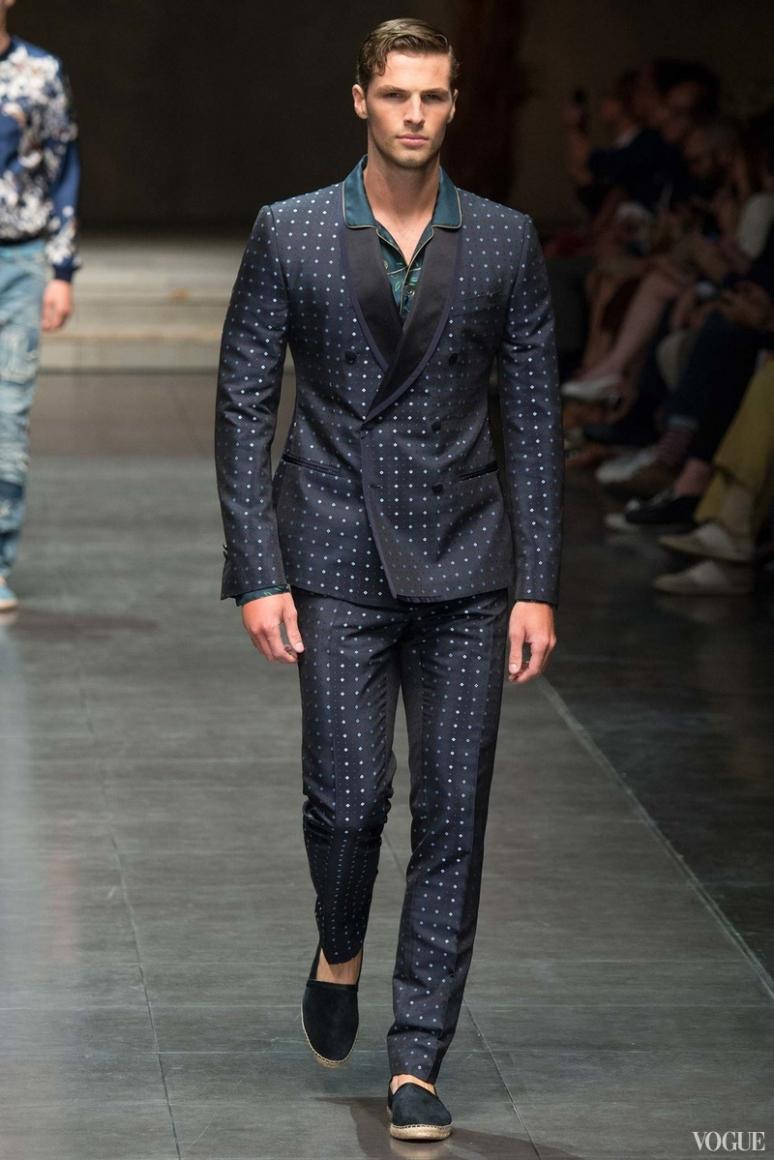 Dolce & Gabbana Menswear весна-лето 2016 #97