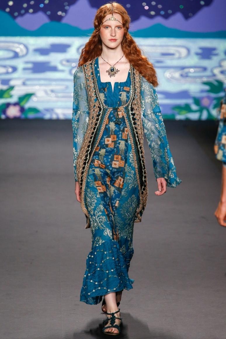 Anna Sui весна-лето 2014 #42