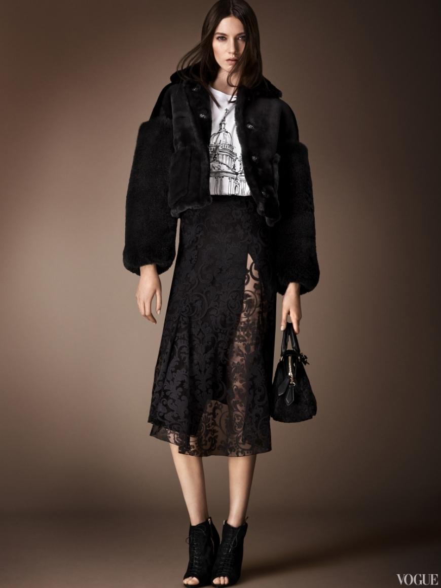 Burberry Prorsum Couture весна-лето 2013 #24