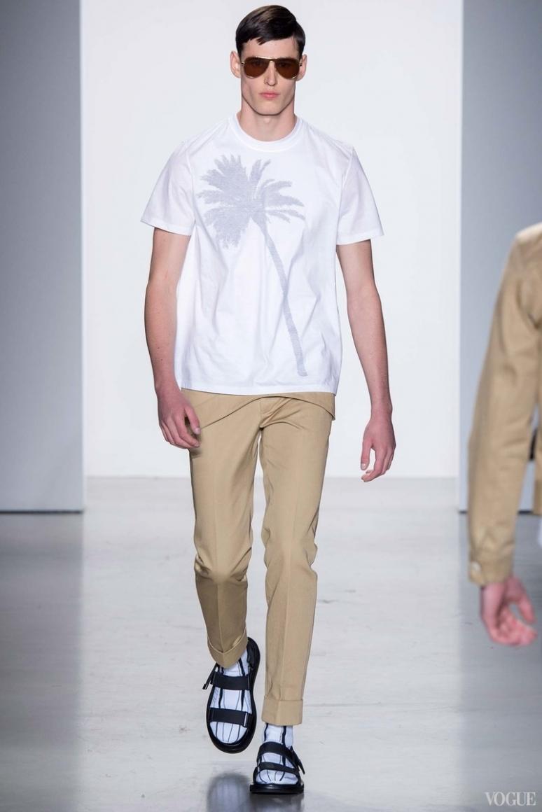 Calvin Klein Menswear весна-лето 2016 #17