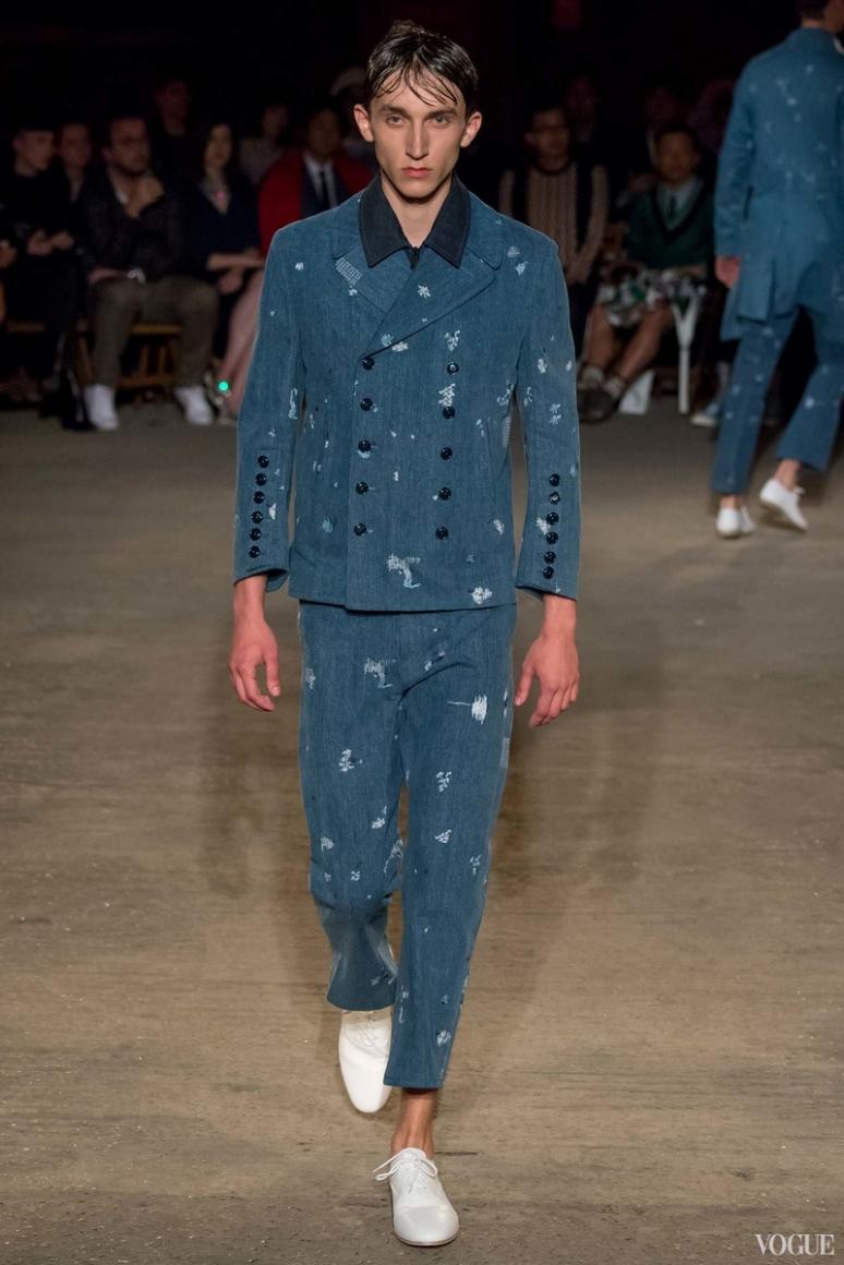 Alexander McQueen Menswear весна-лето 2016 #4