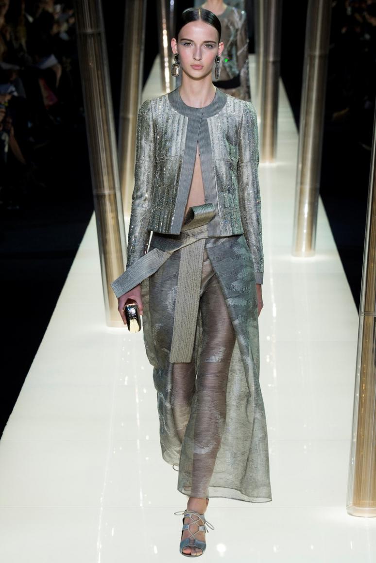 Armani Priv? Couture весна-лето 2015 #41