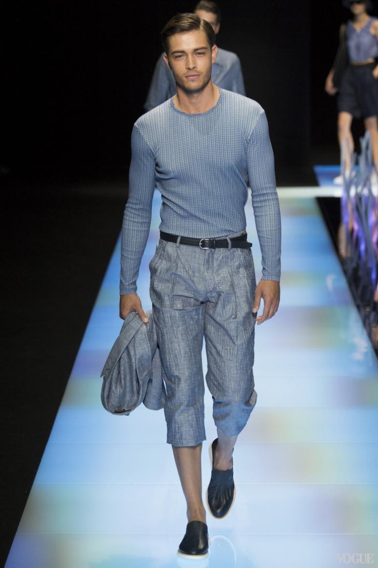 Giorgio Armani Menswear весна-лето 2016 #8