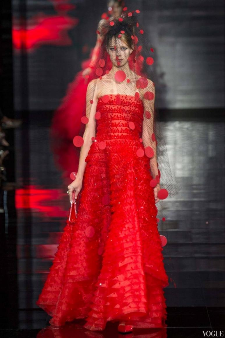 Armani Priv? Couture осень-зима 2014/2015 #4
