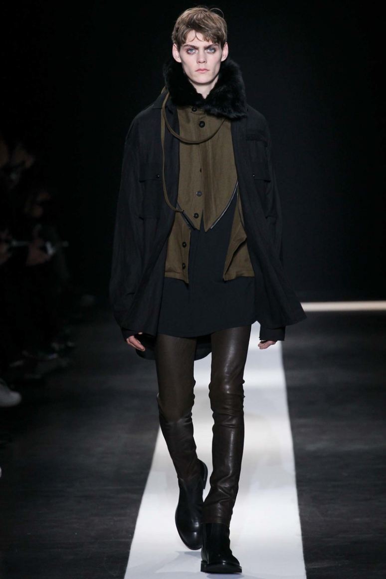 Ann Demeulemeester Menswear осень-зима 2015/2016 #24
