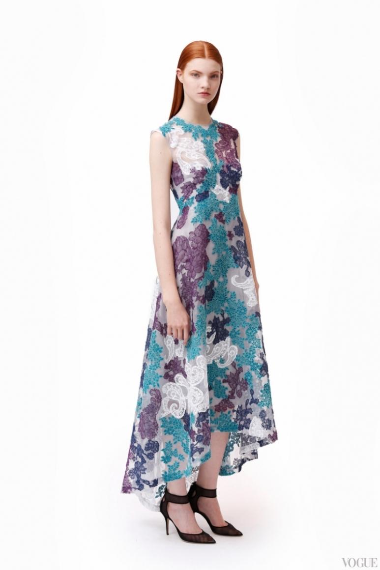 Monique Lhuillier Couture весна-лето 2013 #12