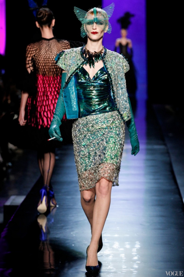 Jean Paul Gaultier Couture весна-лето 2014 #21