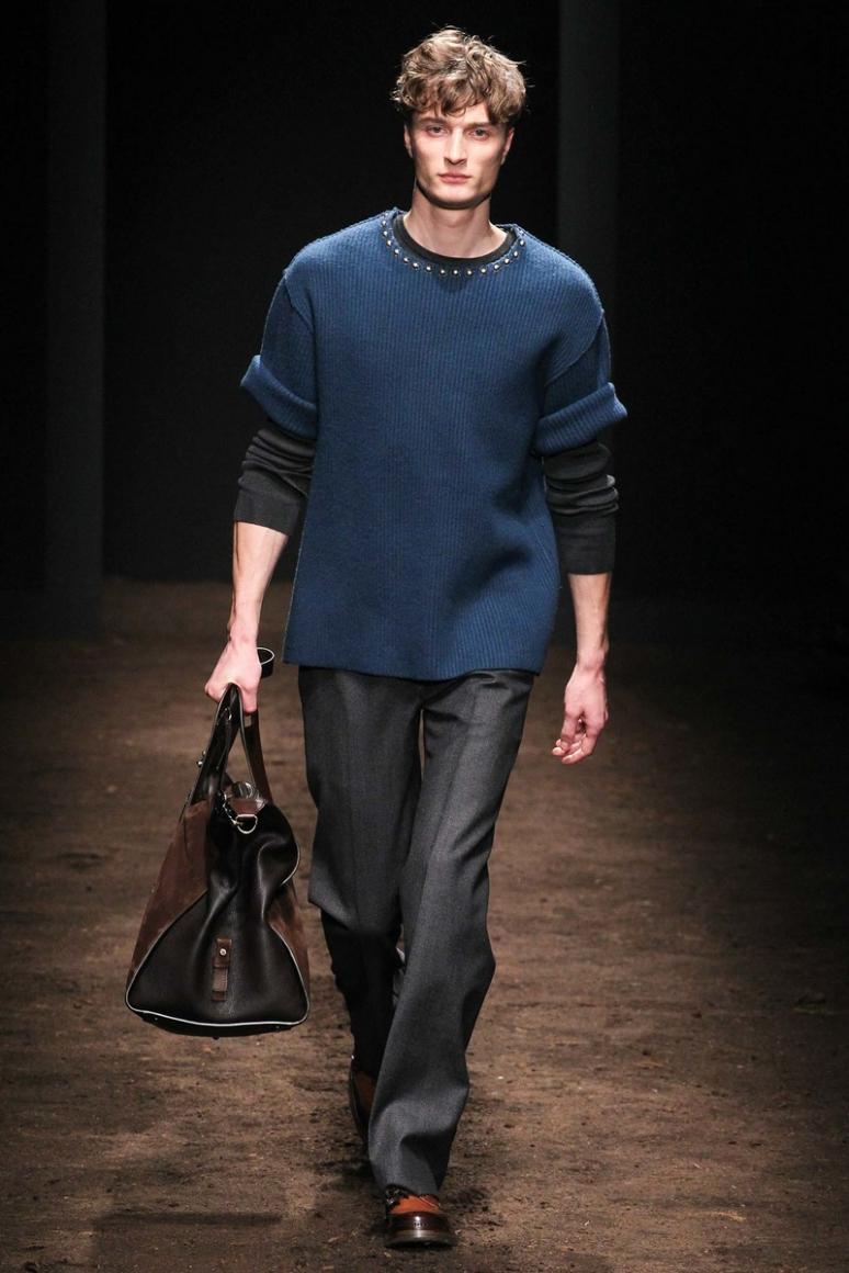 Salvatore Ferragamo Menswear осень-зима 2015/2016 #16