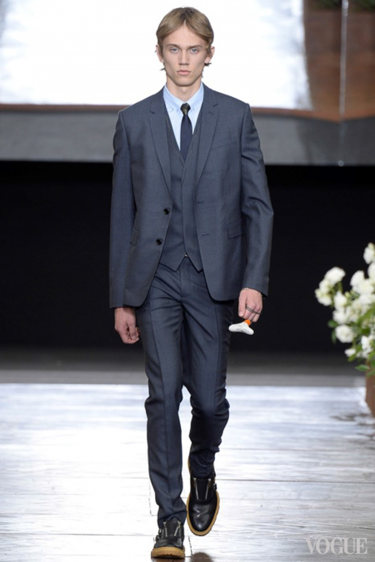 Dior Homme Menswear весна-лето 2016 #47