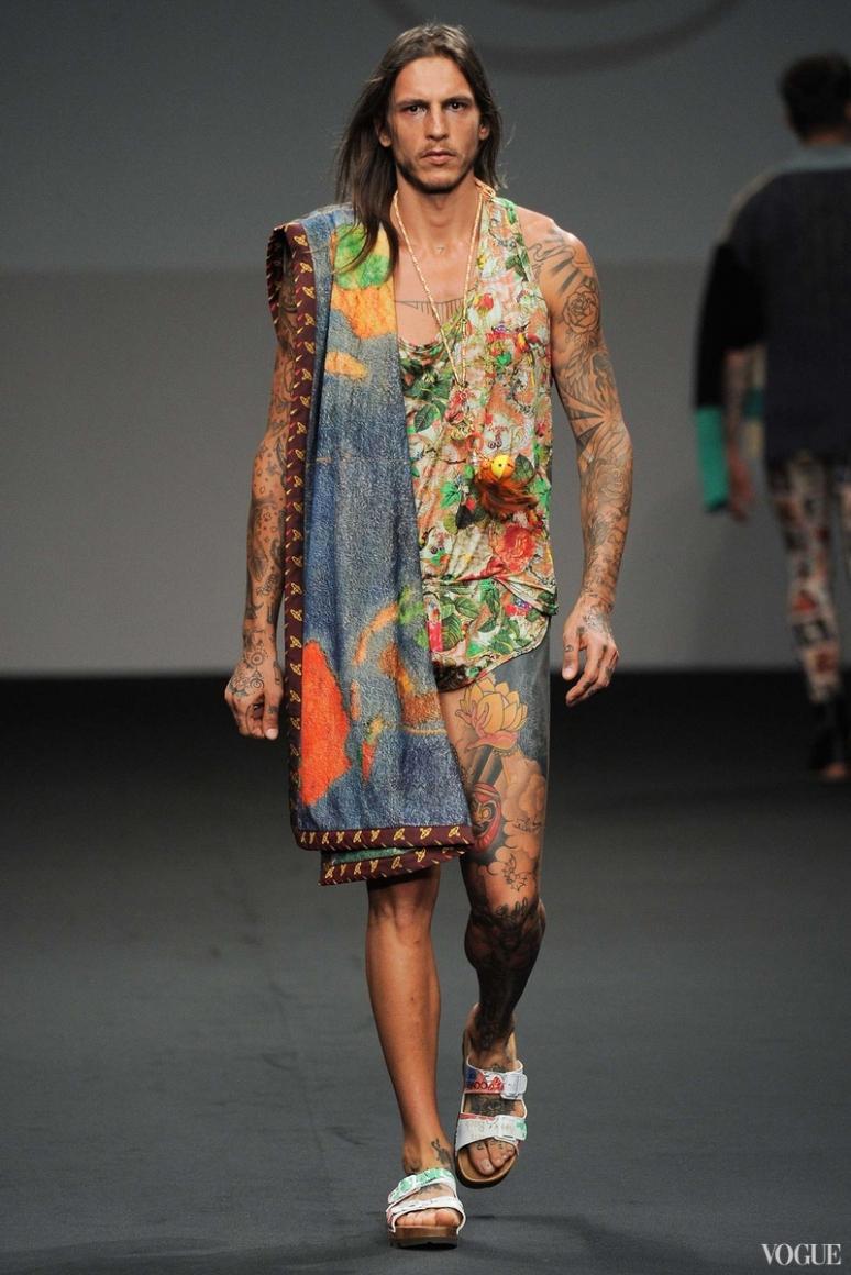 Vivienne Westwood Menswear весна-лето 2016 #32